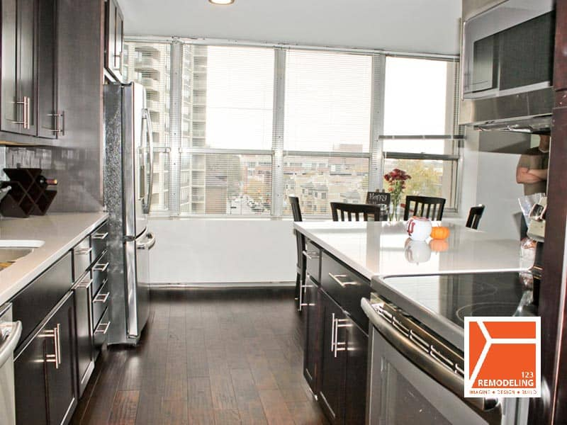 After Condo Kitchen Remodel- 655 W. Irving Park, Chicago, IL (Lakeview)