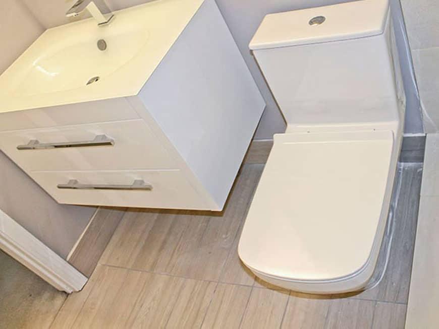 Condo Bathroom Renovation - 3660 N. Lake Shore Dr, Chicago, IL (Lake View)