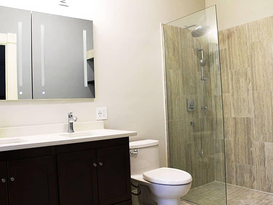 Master Bathroom Remodel - 1513 Asbury Ave, Evanston, IL