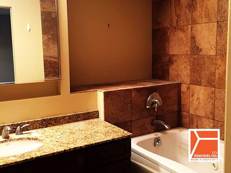 After Condo Bathroom Remodel   40 E. 9th St, Chicago, IL(South