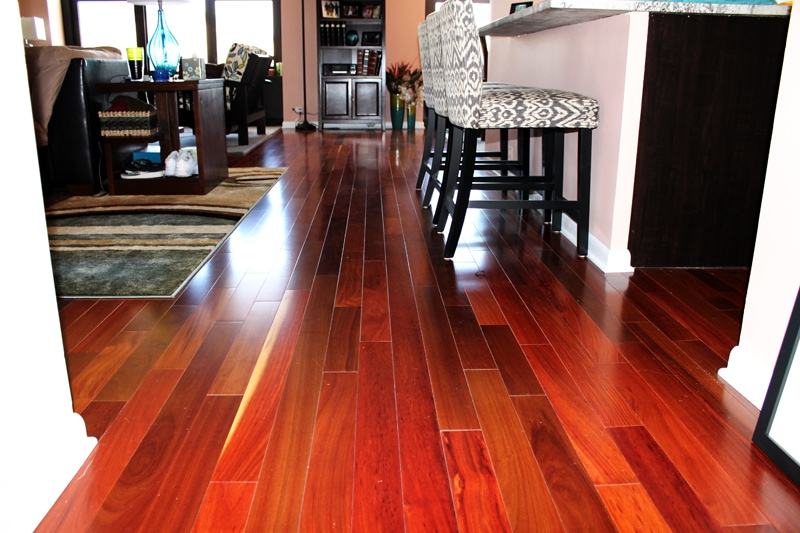 bamboo flooring condo remodeling