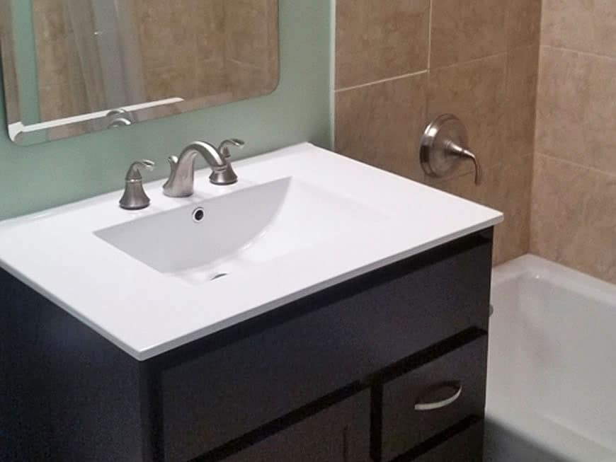 Condo Master Bathroom Remodel - 655 W. Irving Park Rd, Chicago, IL (Lakeview)