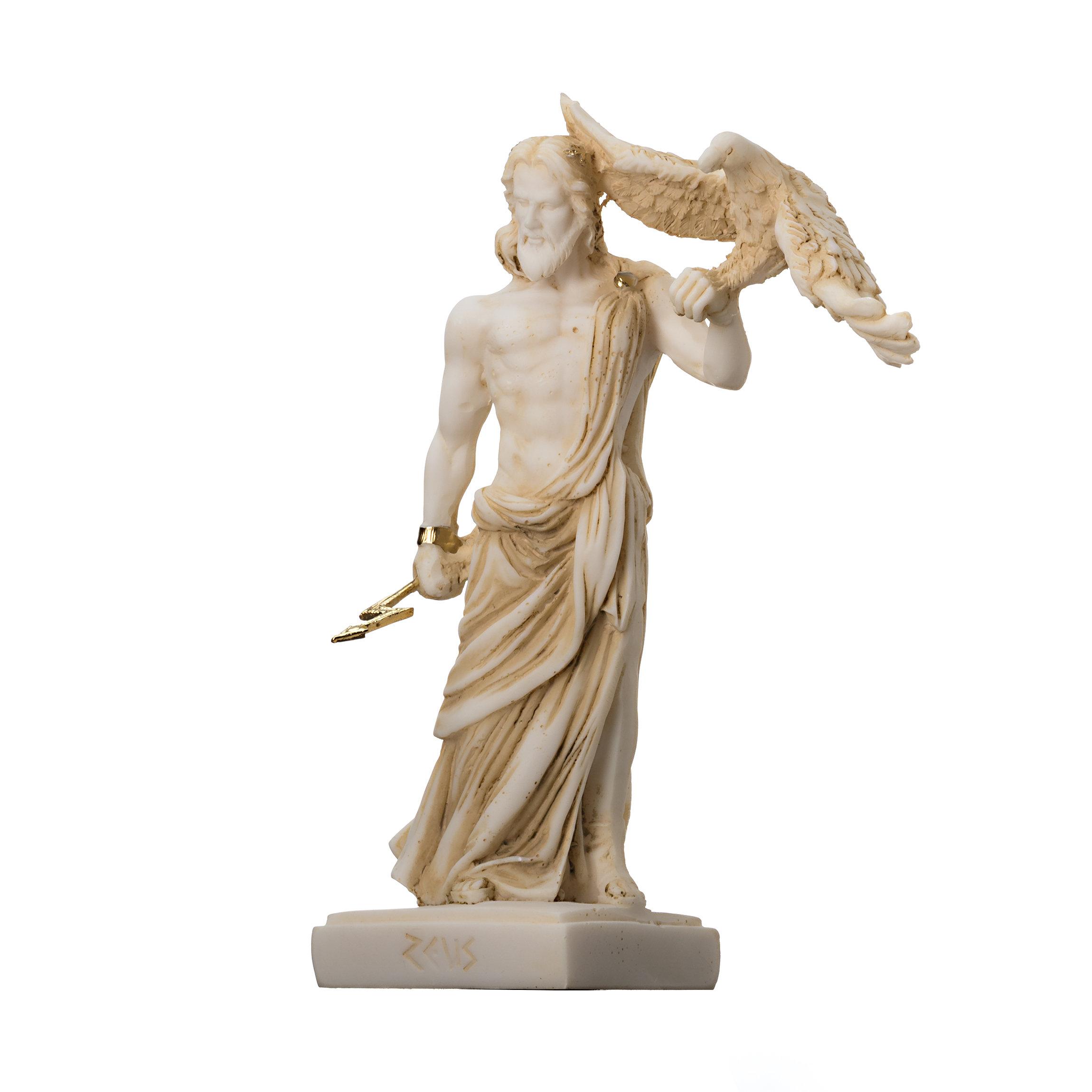 Virgin Mary Sculpture Marble Greek Handmade Religious Statue 16cm