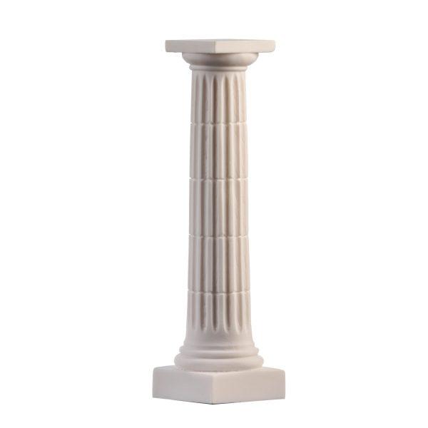 Doric Order Ancient Greek Column Decoration Architecture Alabaster 10.2″ F.Ship