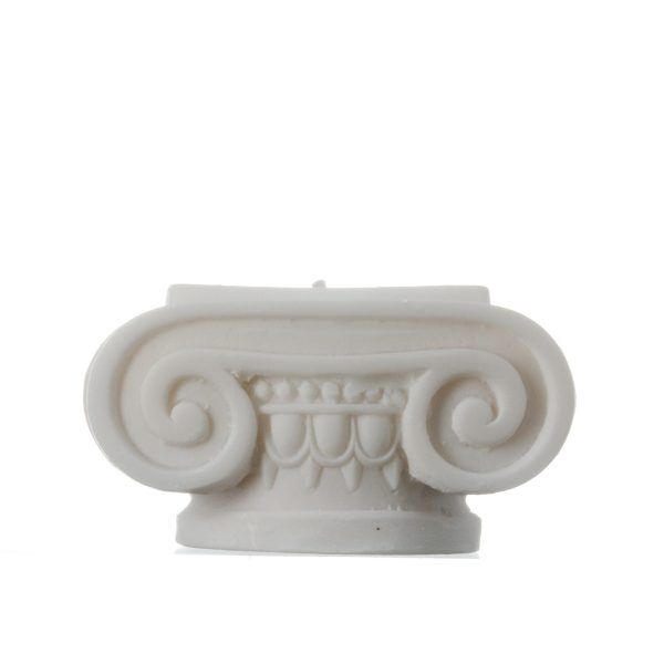 Greek Column Candle Holder Ionic Order Ancient Decoration Architecture Alabaster