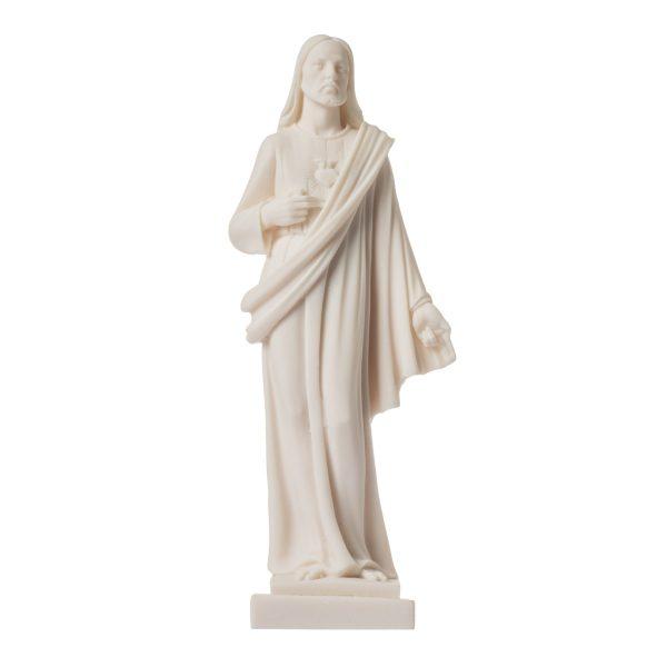 Lord Jesus Christ Statue Alabaster 10″