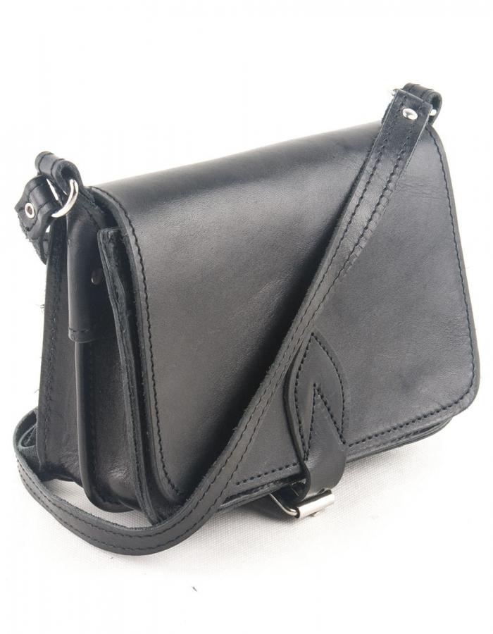 Leather Shoulder Bag Handmade Natural Tan Beige Brown Cross Body Satchel Vintage Saddle Handbag Purse S