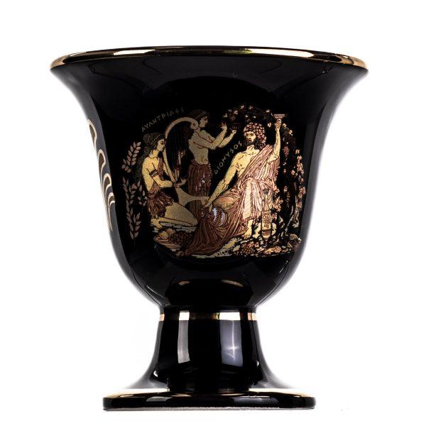 Pythagoras Cup of Justice Dionysus Acropolis Pythagorean Fair Mug Ancient Greece Black Cobalt Usable