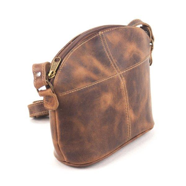 Leather Shoulder Bag Handmade Design Natural Tan Beige Brown Cross Body Satchel Vintage Saddle Handbag Purse