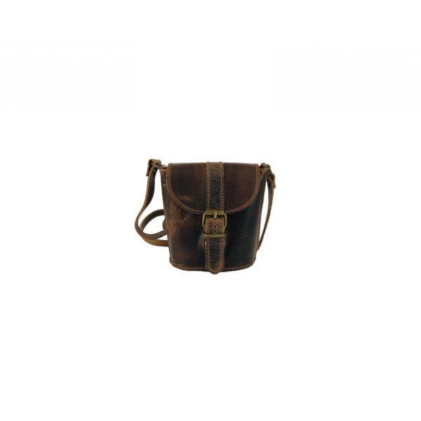 Leather Shoulder Bag Natural Tan Beige Vintage Brown Handmade Cross Body Saddle Vintage Handbag Purse Small