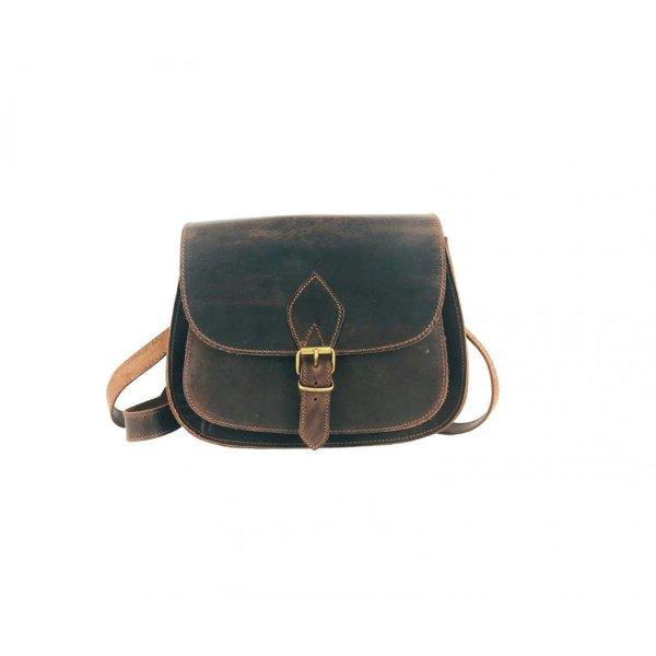 Embossed Leather Shoulder Bag Handmade Pyrography Floral Design Natural Beige Brown Black Cross Body Satchel Vintage Saddle Handbag Purse L