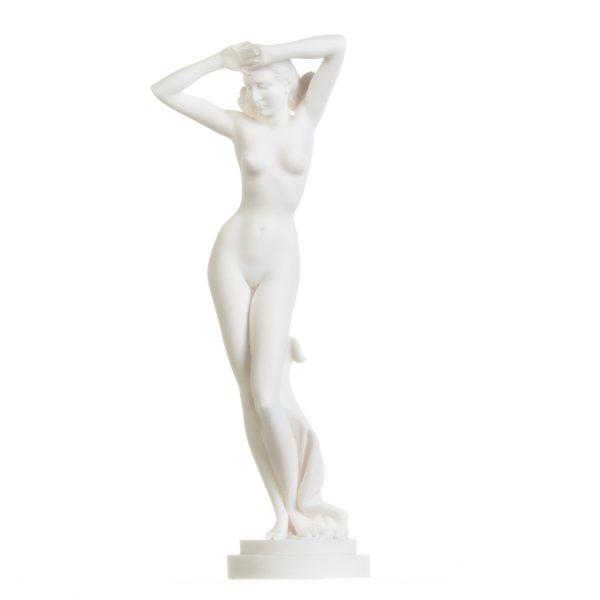 Nude Kore Naked Sexy Goddess Greek Mythology Statue Figurine Handmade 12.2 inches