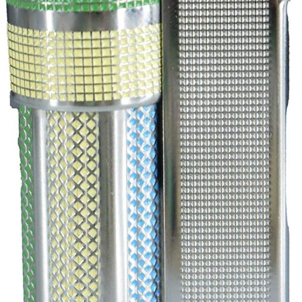 Vintage IMCO Lighter Triplex Super 6700 Made in Austria Blue Yellow Green New Old Stock
