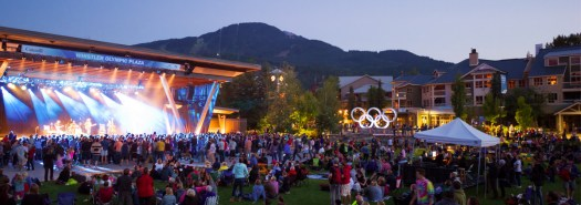 free whistler concerts