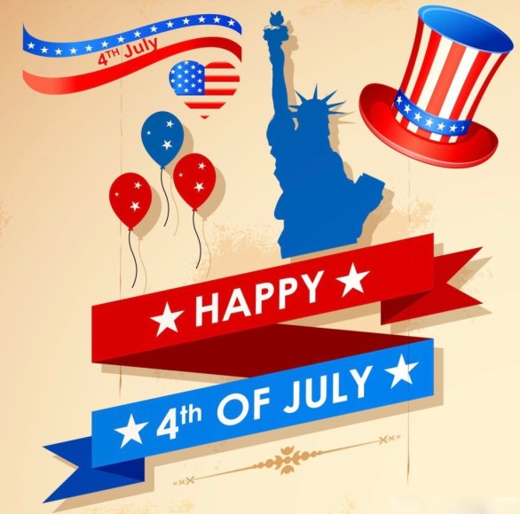 Happy 4th of July Greeting Cards
