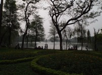 Au lac de l'épée (Hoan Kiem)iem - Hanoï)