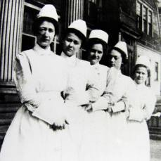 #TBT Nurses, circa 1913