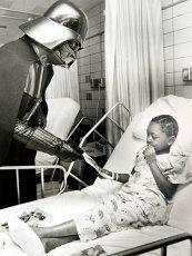 #TBT Darth Vader visits