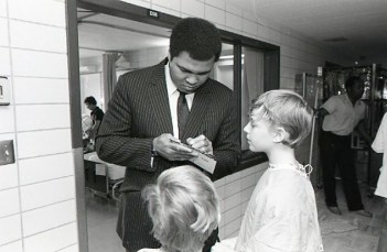 #TBT Muhammad Ali visits