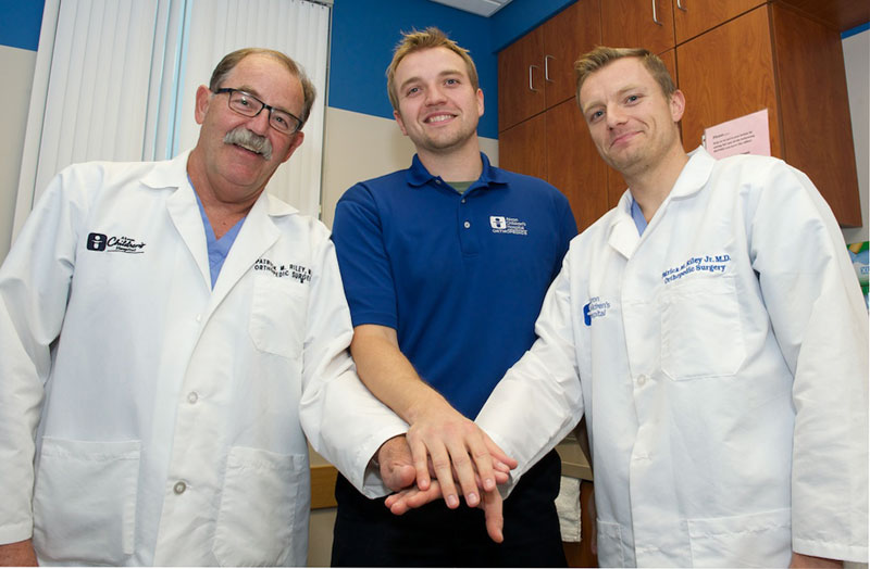 All in the family: Father and son surgeons bring expertise to ...