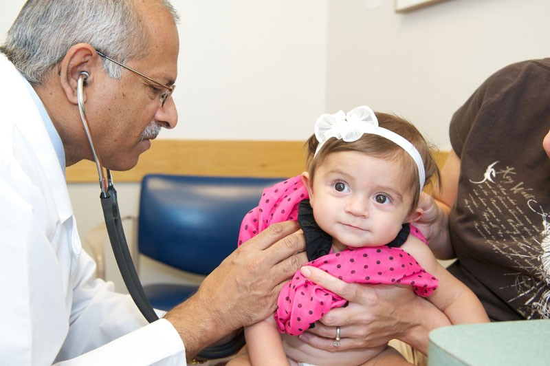 """Dr. Patel diagnosed Saige Carpenter with pulmonary atresia when she was a newborn. She has since had 2 open heart surgeries and 4 catheterizations. Her mother is incredibly thankful for his care. """"Dr. Patel has been just amazing. He will call us at home to check in and answer any questions we have. We just feel blessed that Saige is under his care."""""""