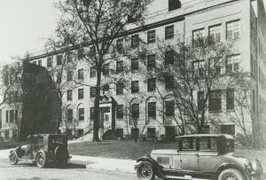 Akron Children's new hospital building at the corner of W. Buchtel and Bowery streets opened on Feb. 1, 1928.
