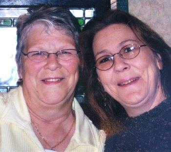 Teresa and her mom