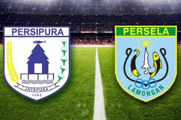 Laporan Pertandingan Sepakbola Liga1 Persipura VS Persela Lamongan