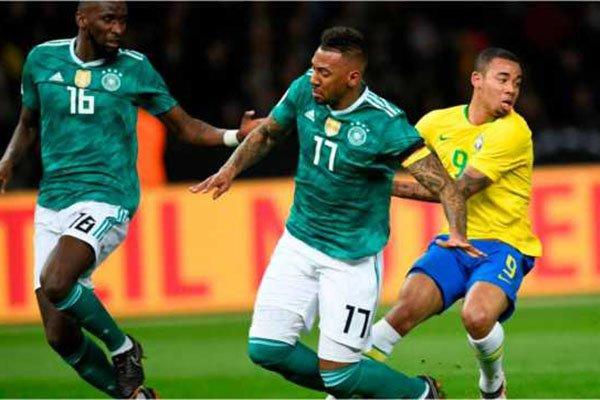 Laporan Pertandingan Sepakbola Timnas Jerman VS Timnas Brasil