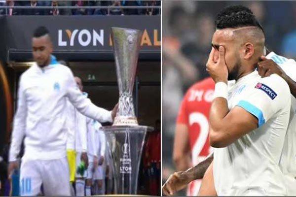 Kapten Marseille Langgar Tabu Sentuh Piala Tapi Gagal Juara
