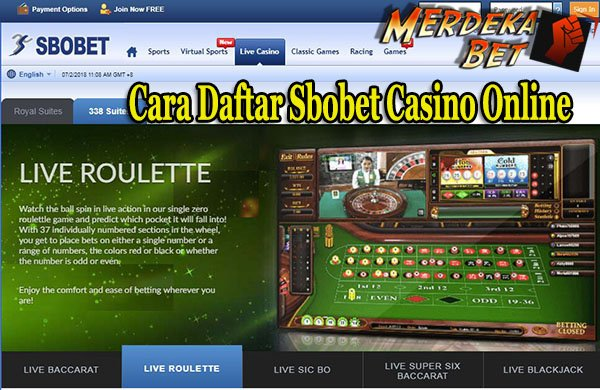 Cara Daftar Sbobet Casino Online
