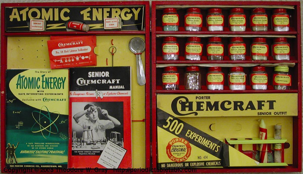 Chemcraft Set