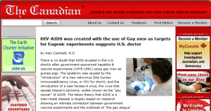 AIDS linked to hepatitis experiments by CDC