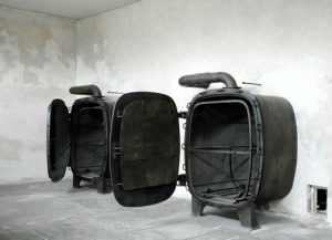 Gas chambers used for delousing