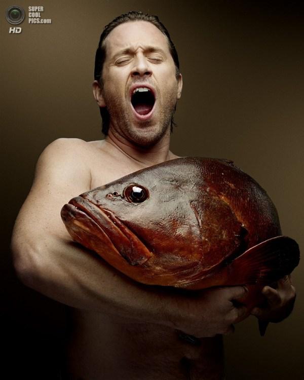 Фотопроект «Рыбная любовь» - Фото Знаменитости
