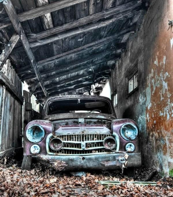 Кладбище старых автомобилей в Польше - Фото Мир Фактов