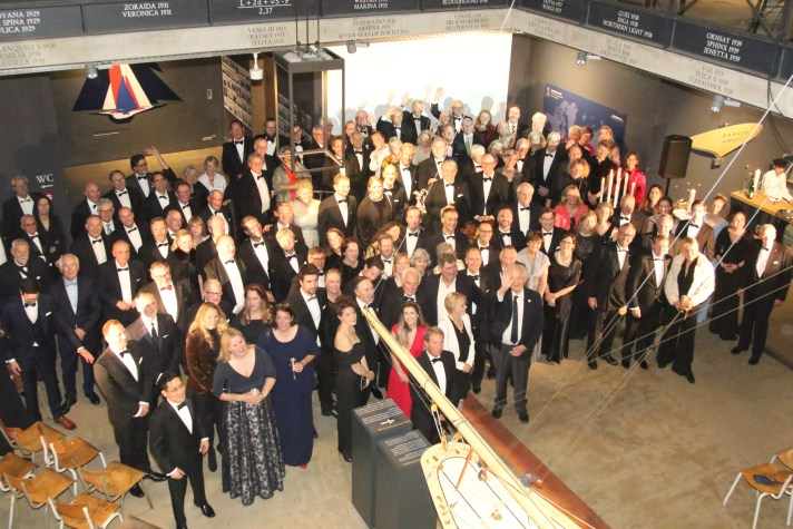 2019 America's Cup Hall of Fame Induction at Robbe & Berking Yachting Heritage Center in Flensburg, Germany on November 16, 2019