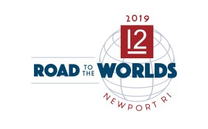 2016-2019 Road to the Worlds logo