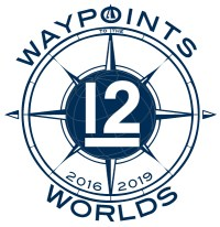 Waypoints to the Worlds logo