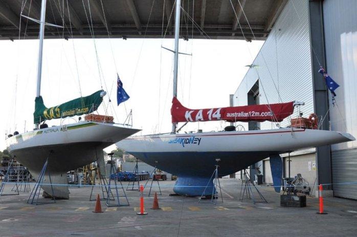 Australia, KA-5 and Steak 'N Kidney, KA-14