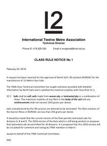 Class Rule Notice No.1 NORDAC