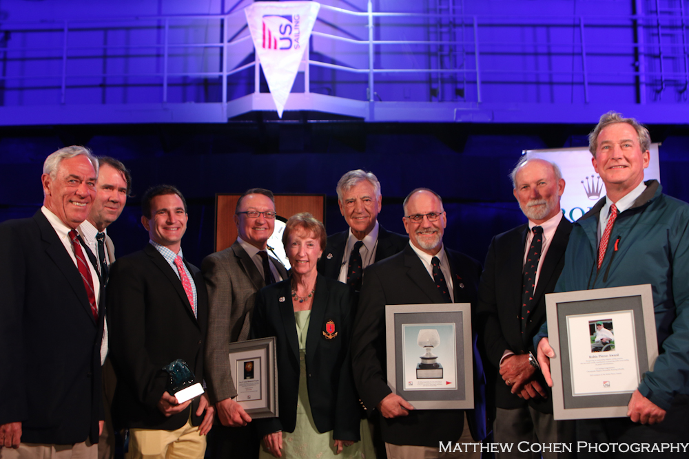 US SAILING awards St. Petersburg Trophy to Ida Lewis Yacht Club, photo by Matthew Cohen