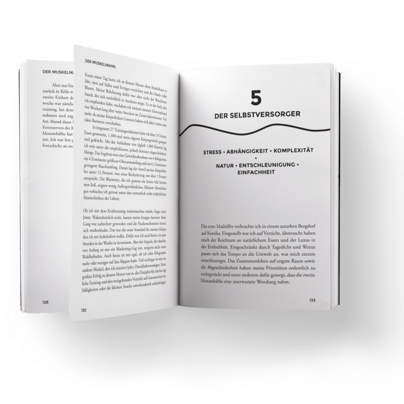 """Blick ins Buch """"12 Neue Leben"""""""