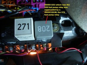 Testing for Switched Power at the C4 J17 FP relay