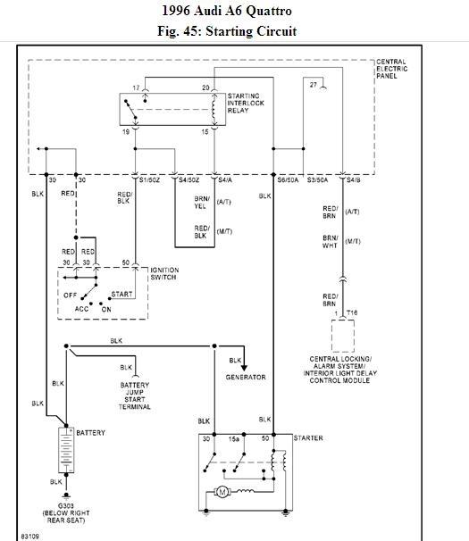 99 audi wiring diagram: 99 audi quattro radio wiring