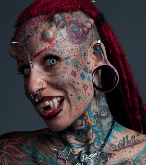 Crazy Body Modification