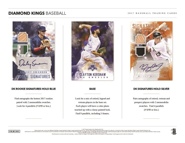 2017 Diamond Kings Baseball 130 Point