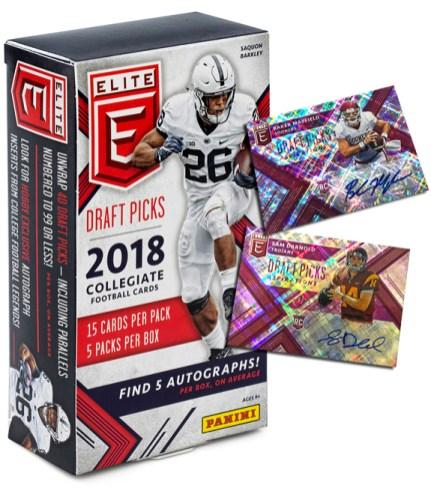 2018 Elite Draft Picks Football