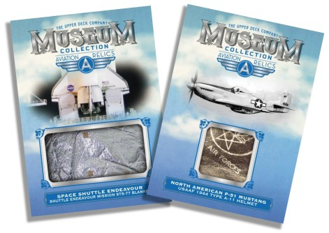 2018 Upper Deck Goodwin Champions - Museum Collection Aviation Relics