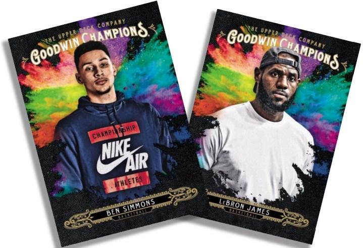 2018 Upper Deck Goodwin Champions - Splash of Color